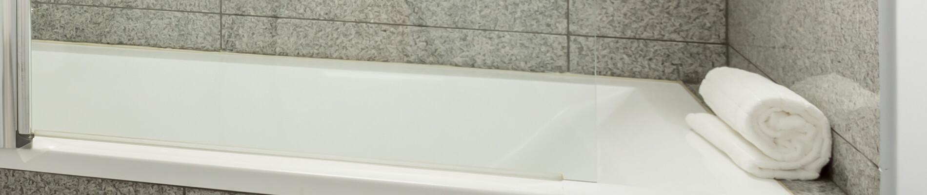 Granite in the shower