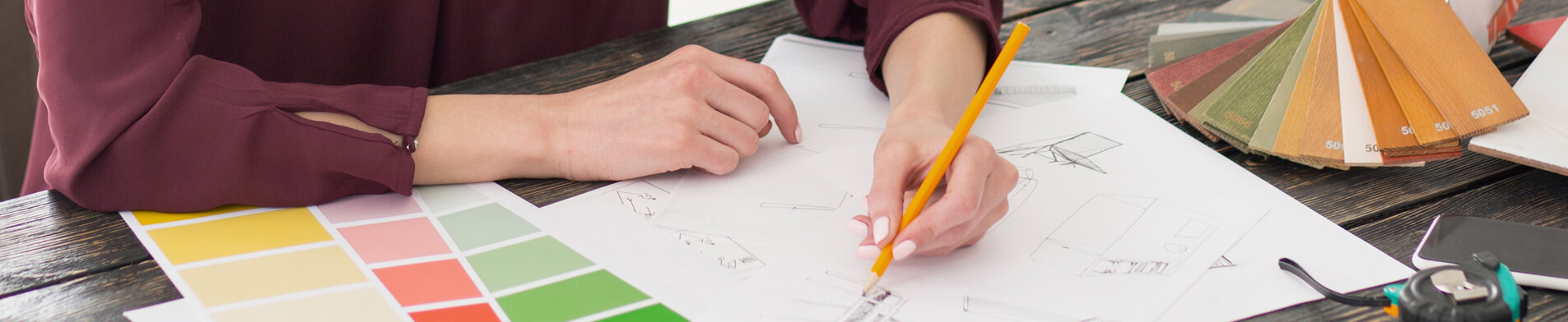 on-site interior designer