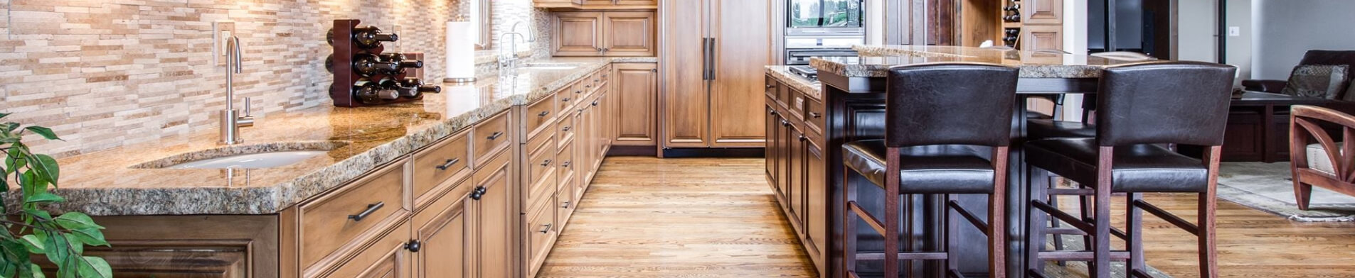 process of getting new countertops
